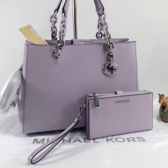 cea586df03e96b Michael Kors Bags | Nwt Cynthia Medium And Wallet | Poshmark